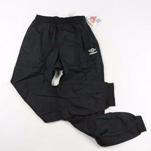 Vintage New Umbro Joggers Jogger Pants Black Small